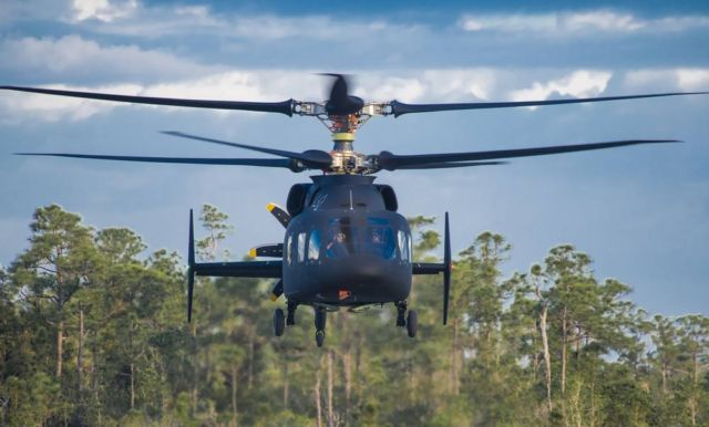 Defiant Helicopter made its First Flight