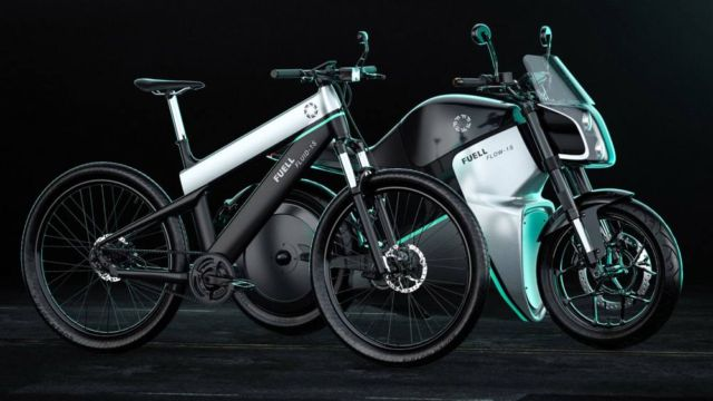 Fuell electric bicycle and e-motorcycle