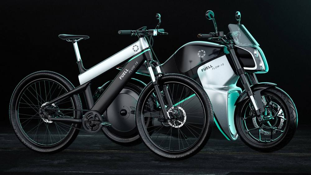 Fuell electric bicycle and e-motorcycle (8)