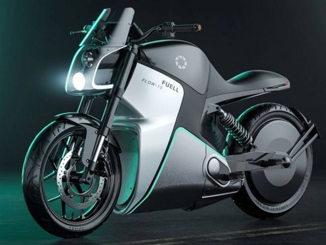 Fuell electric bicycle and e-motorcycle (5)