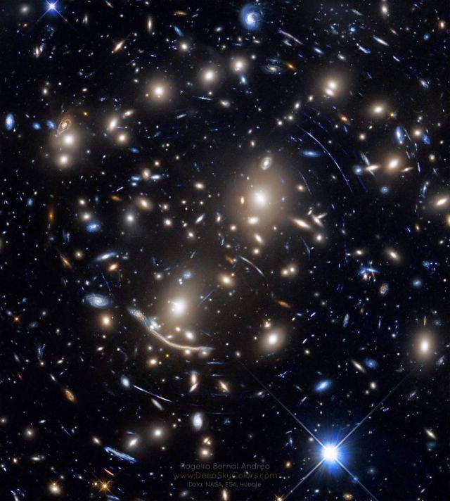 Galaxy Cluster Gravitational Lens