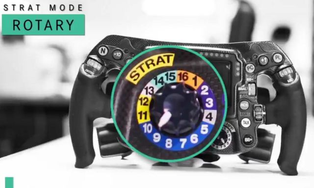 How does a Formula 1 steering wheel work (2)