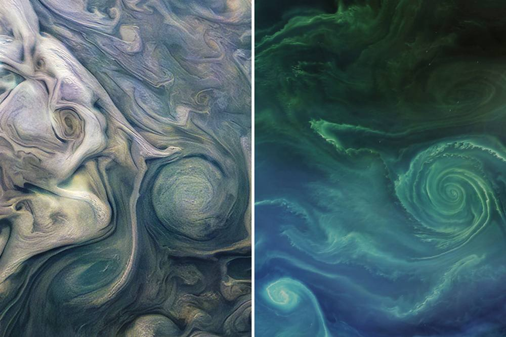 Jupiter or Earth?