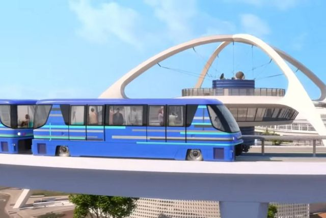 LAX is starting its Automated Elevated Train project