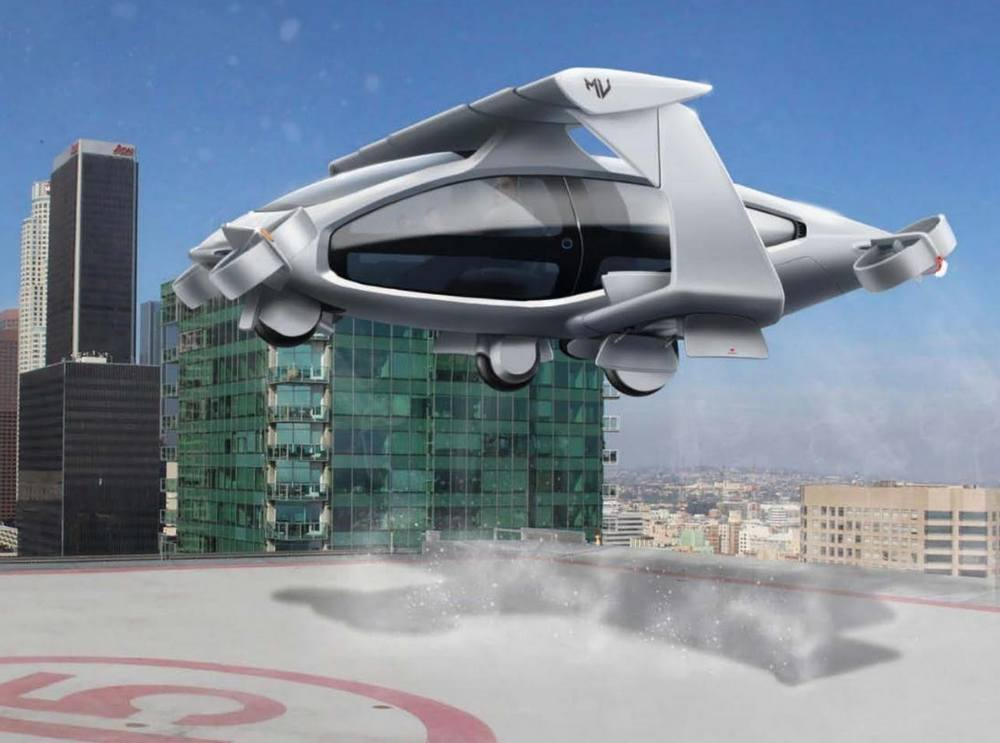 Macchina Volantis electric VTOL aircraft