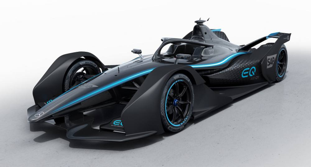 Mercedes reveals its first Formula E race car (6)