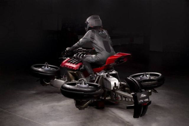 Moto Volante flying motorcycle