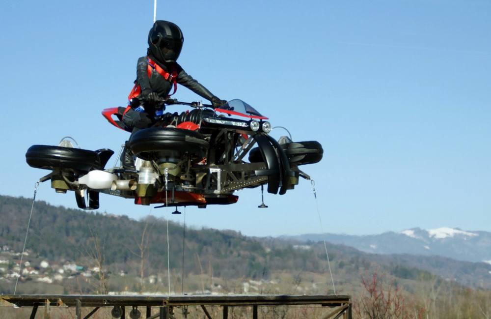 Moto Volante flying motorcycle