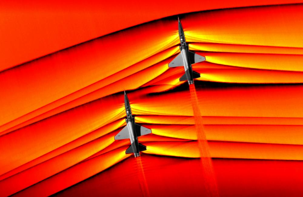 NASA Captures Supersonic Shock Interaction (5)