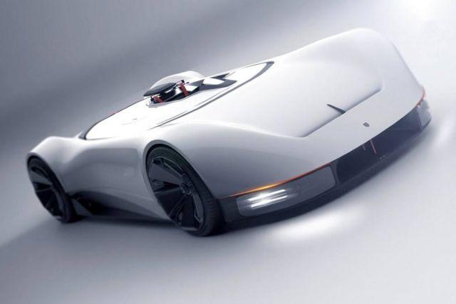 Porsche 357 single-seat Supercar concept