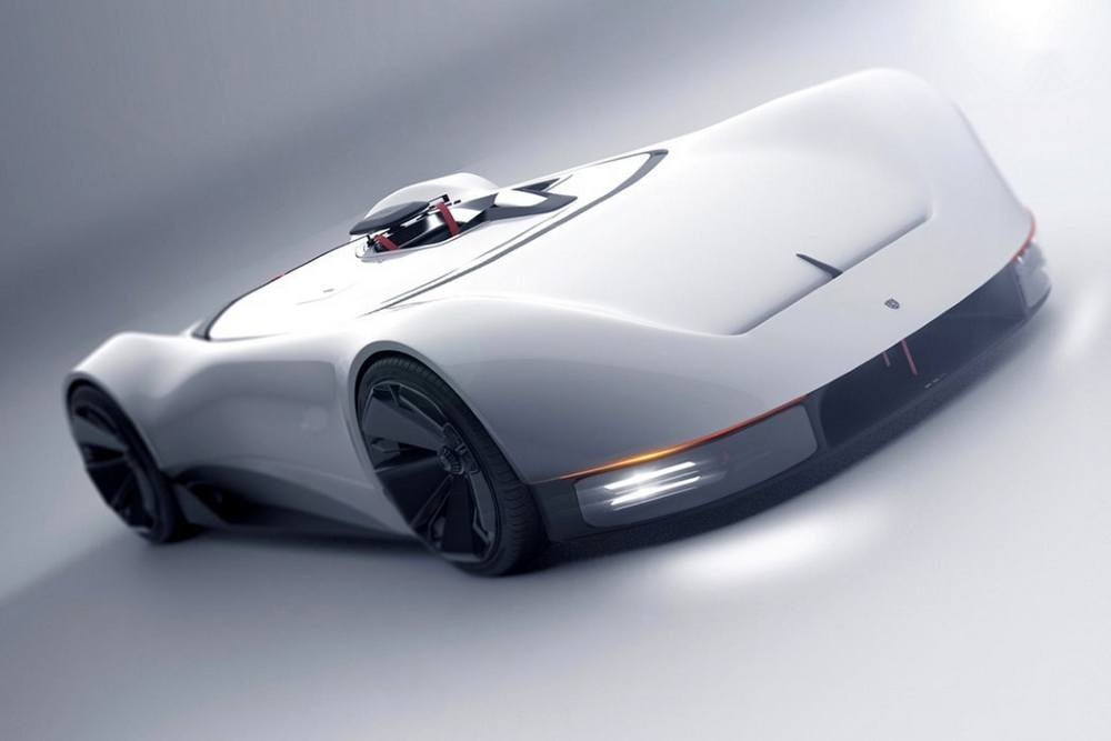 Porsche 357 single-seat Supercar concept (7)