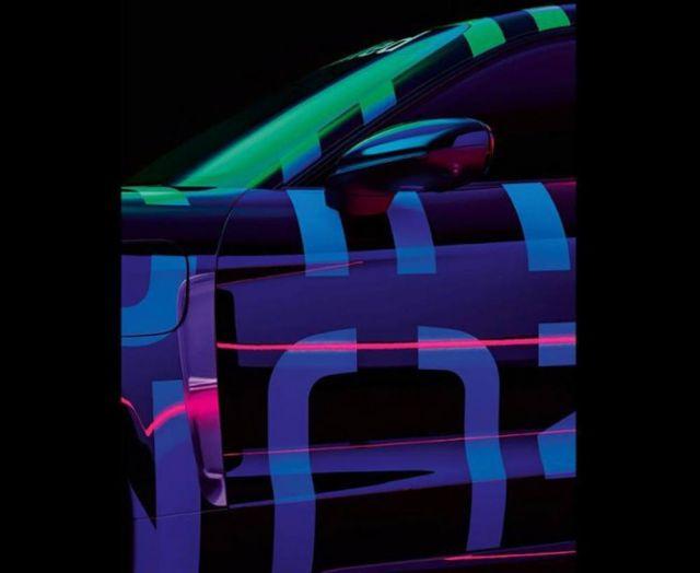 Porsche Taycan EV Teaser Image (1)
