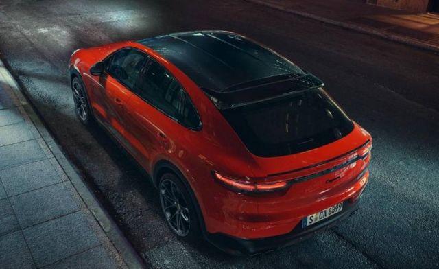 Porsche revealed the Cayenne Coupé
