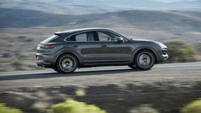 Porsche revealed the Cayenne Coupé (7)