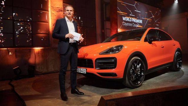 Porsche revealed the Cayenne Coupé (4)