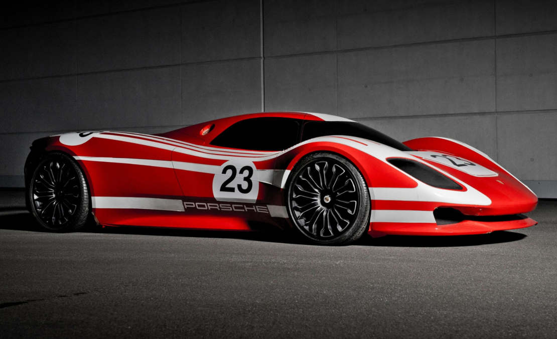 Porsche shows a spectacular new 917 concept
