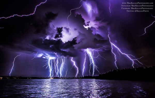 Record-Breaking Thunderstorm Voltage