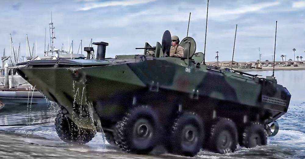 The new Amphibious Combat Vehicle
