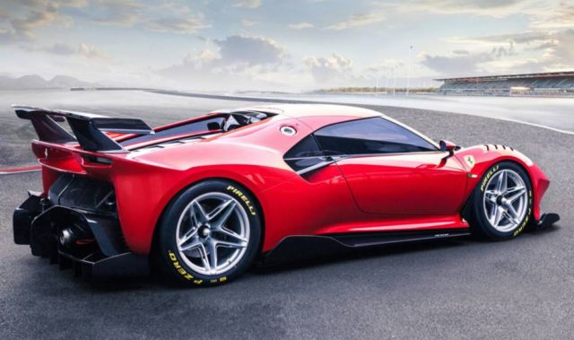 The new Ferrari P80/C Track Car (10)