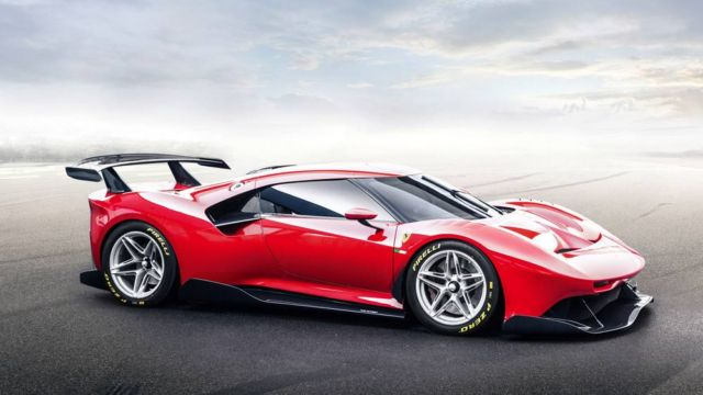 The new Ferrari P80/C Track Car (9)
