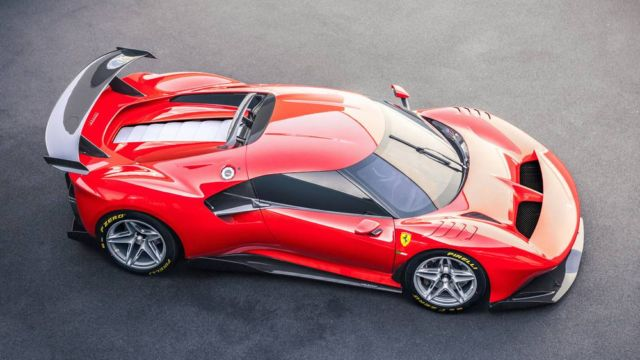 The new Ferrari P80/C Track Car (7)