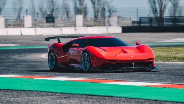 The new Ferrari P80/C Track Car (4)