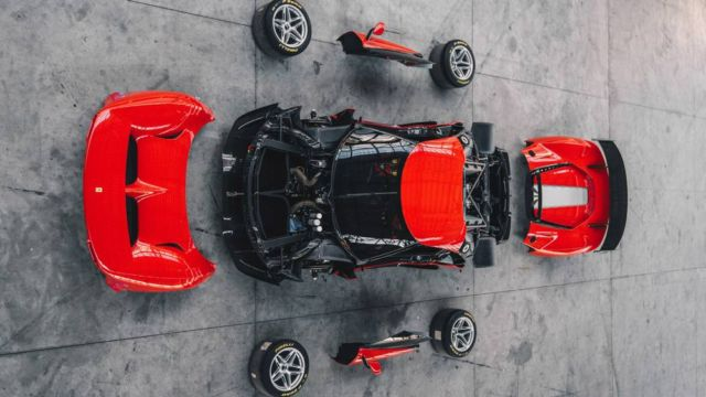 The new Ferrari P80/C Track Car (3)