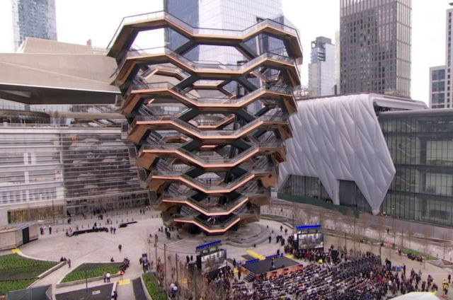 Thomas Heatherwick's 'Vesel' is complete
