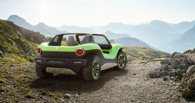 Volkswagen electric Dune Buggy (6)