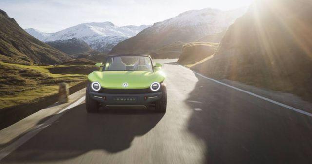 Volkswagen electric Dune Buggy (2)