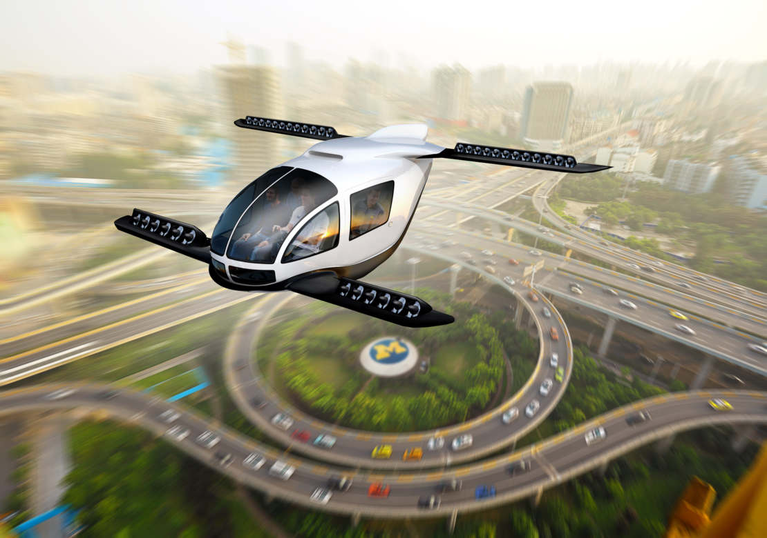 Assessing the role of Flying Cars in sustainable mobility