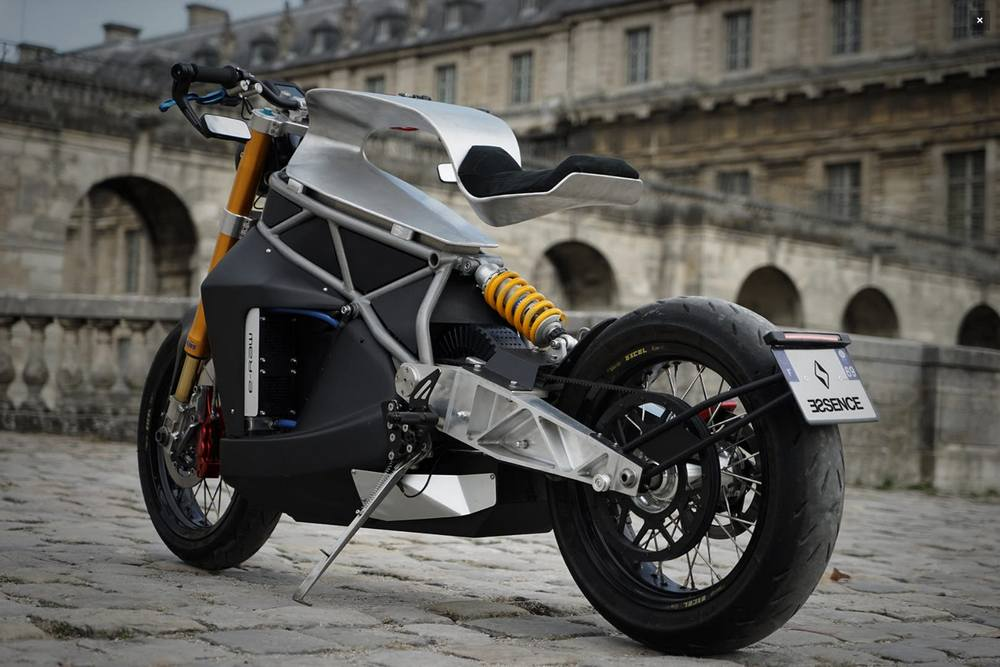 Concept e-raw motorcycle