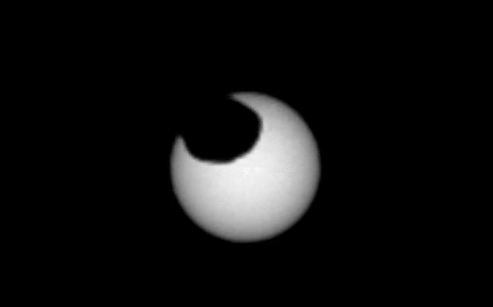 Curiosity rover captured 2 Solar Eclipses on Mars