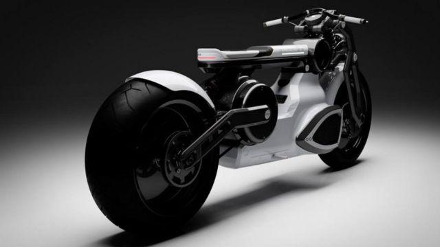 Curtiss Zeus jet-black electric Motorcycle (3)