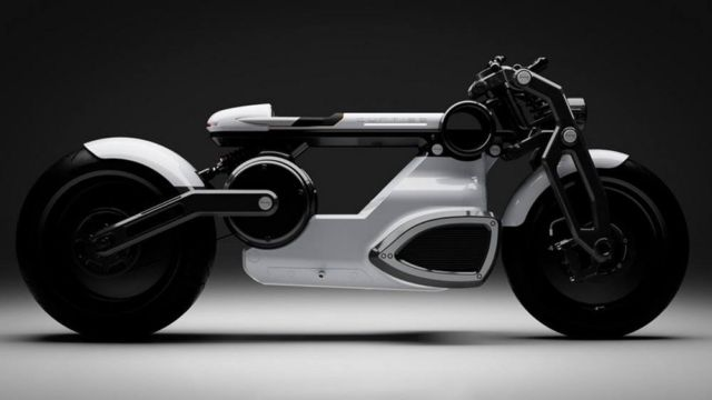 Curtiss Zeus jet-black electric Motorcycle (2)