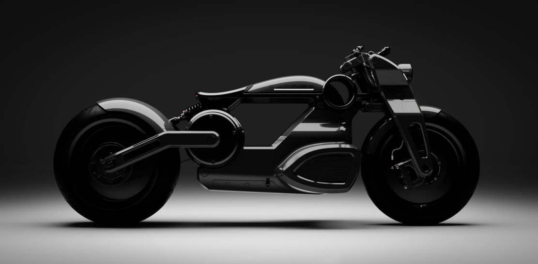 Curtiss Zeus jet-black electric Motorcycle (1)