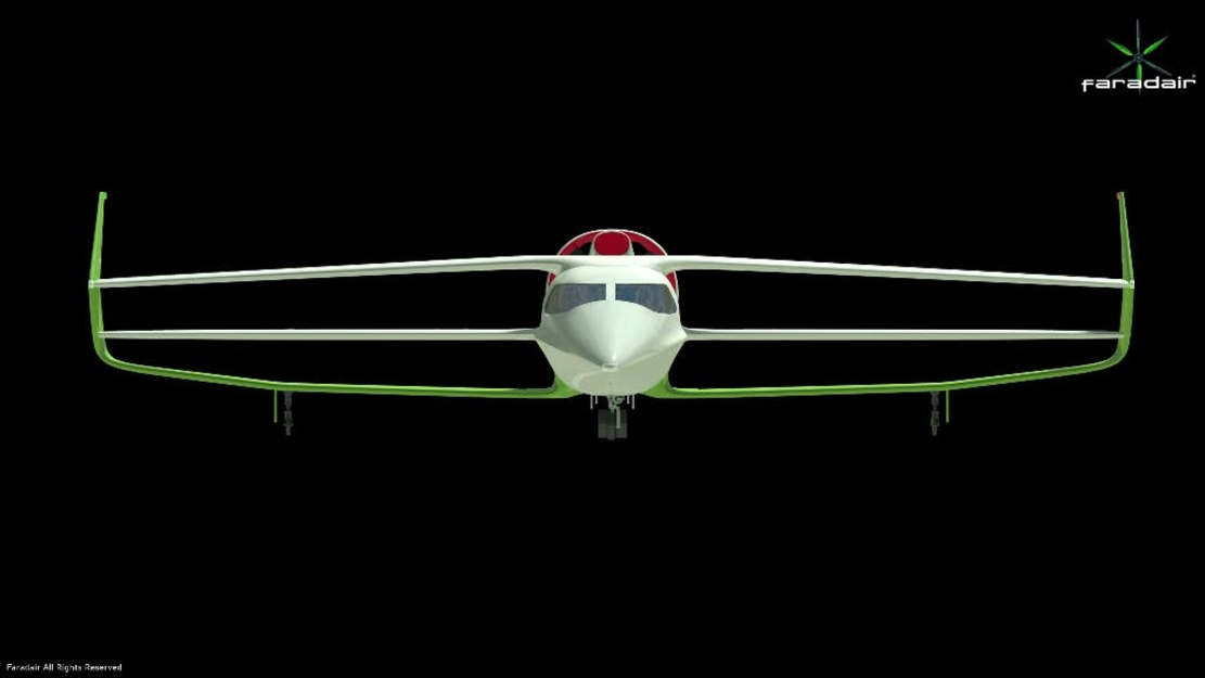 Faradair Hybrid Electric commercial plane (1)