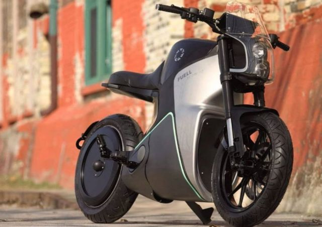 Flow electric motorcycle