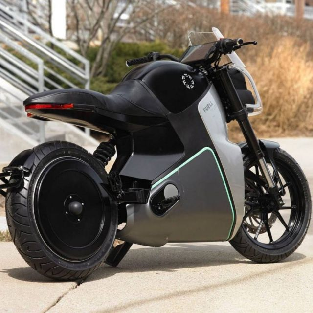 Flow electric motorcycle (2)