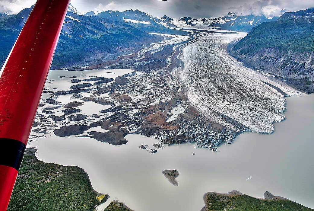 Glaciers are Losing a lot of Ice