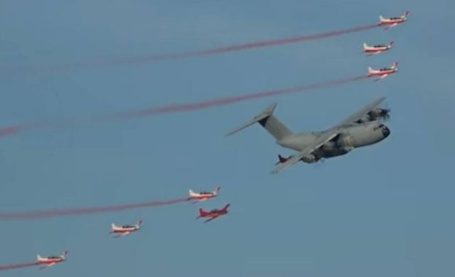 Impressive Airshow Opening