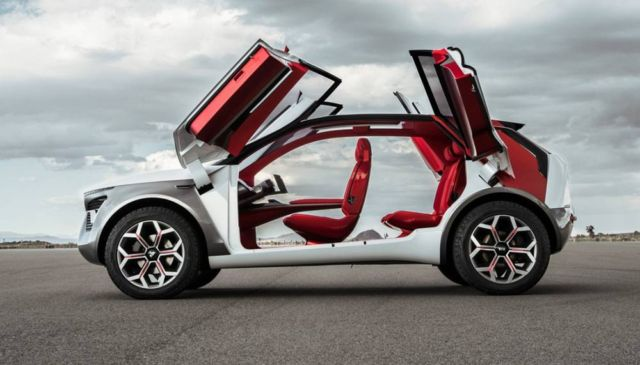 Kia HabaNiro all-wheel drive concept