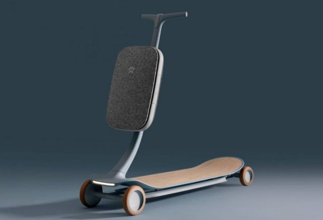 Layer and Nio's intelligent Pal scooter