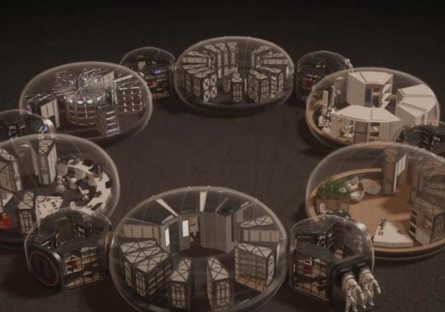 Mars 3D Printed Habitat concept