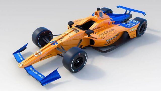McLaren No. 66 IndyCar