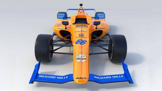 McLaren No. 66 IndyCar (5)