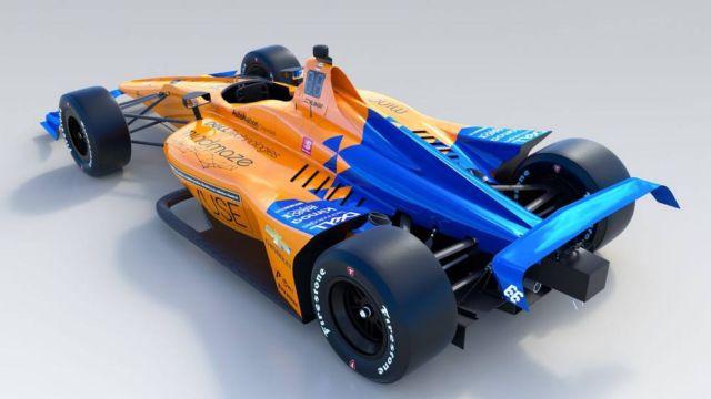 McLaren No. 66 IndyCar (4)