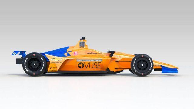 McLaren No. 66 IndyCar (3)