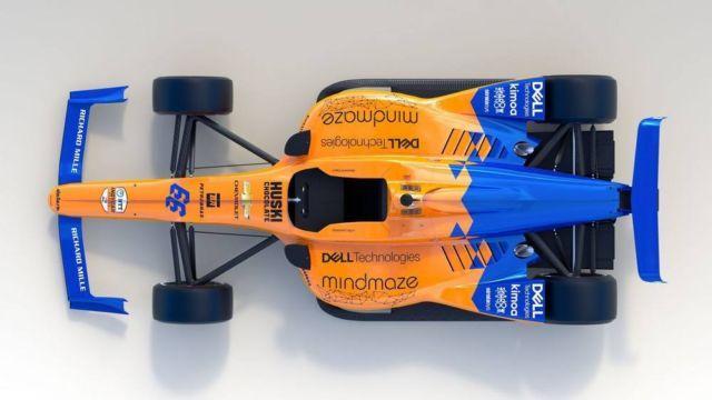McLaren No. 66 IndyCar (2)