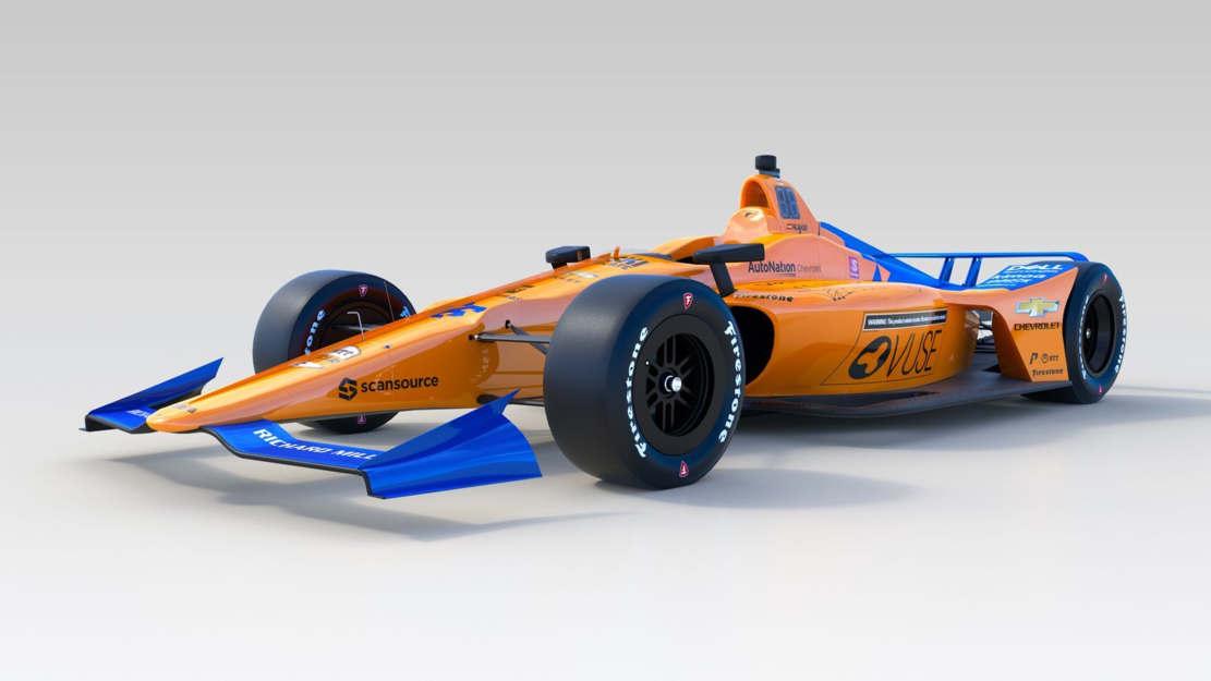 McLaren No. 66 IndyCar (1)